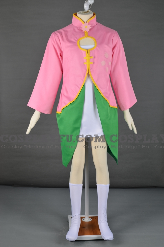 Utaune Sakura Cosplay Costume from UTAU