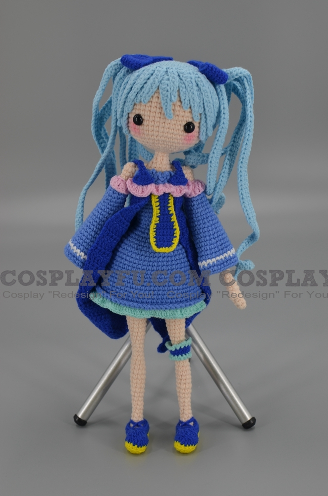 Miku Amigurumi Doll from Vocaloid