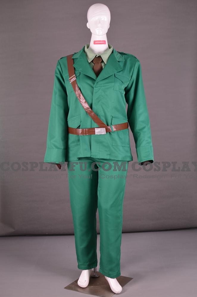 Ireland Cosplay Costume from Axis Powers Hetalia