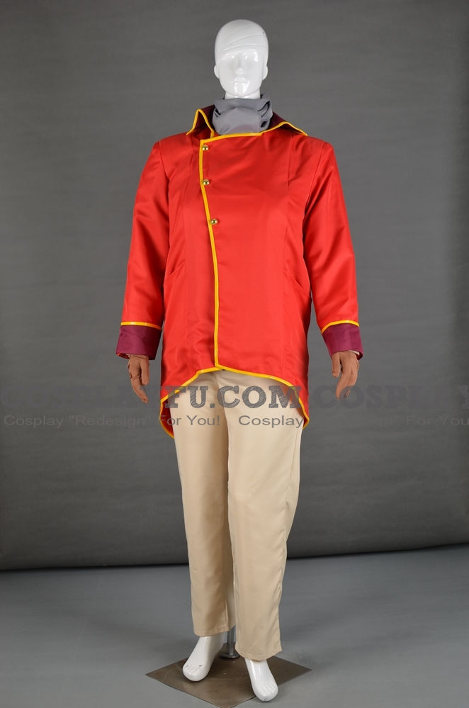 Bumi Cosplay Costume from The Legend of Korra