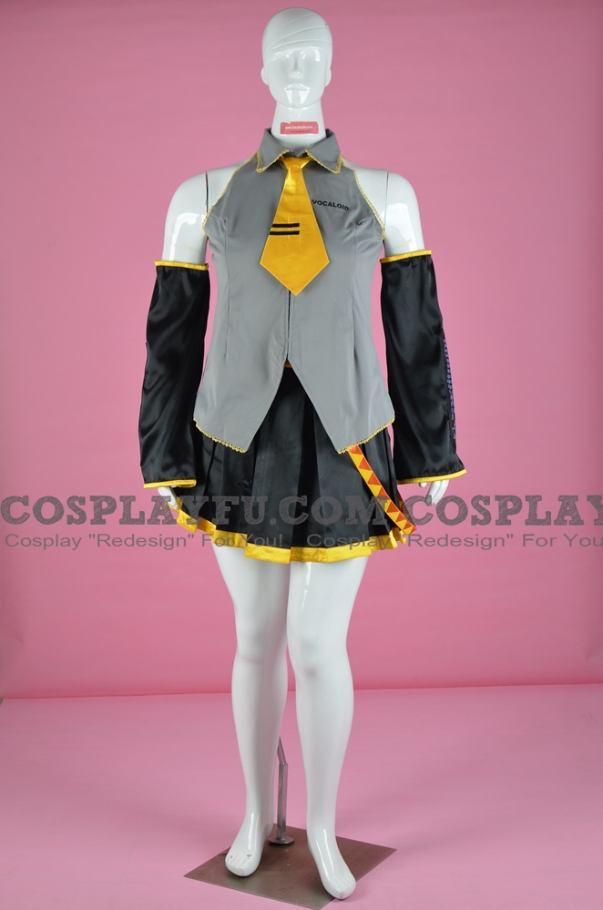 Miku Cosplay Costume (Yellow) from Vocaloid