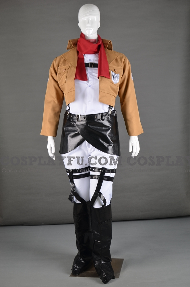 Mikasa Cosplay Costume (Recon Corps) from Attack on Titan