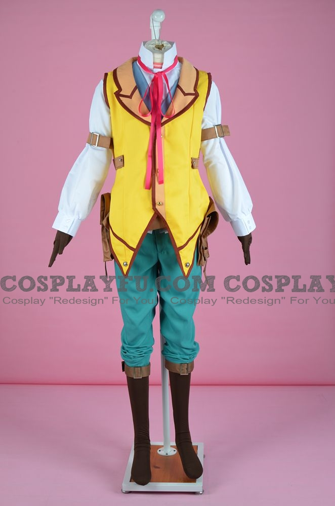 Elliot Craig Cosplay Costume from Trains of Cold Steel