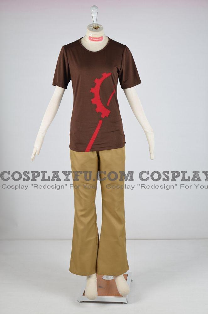 Luke Cosplay Costume from Yu-Gi-Oh! SEVENS
