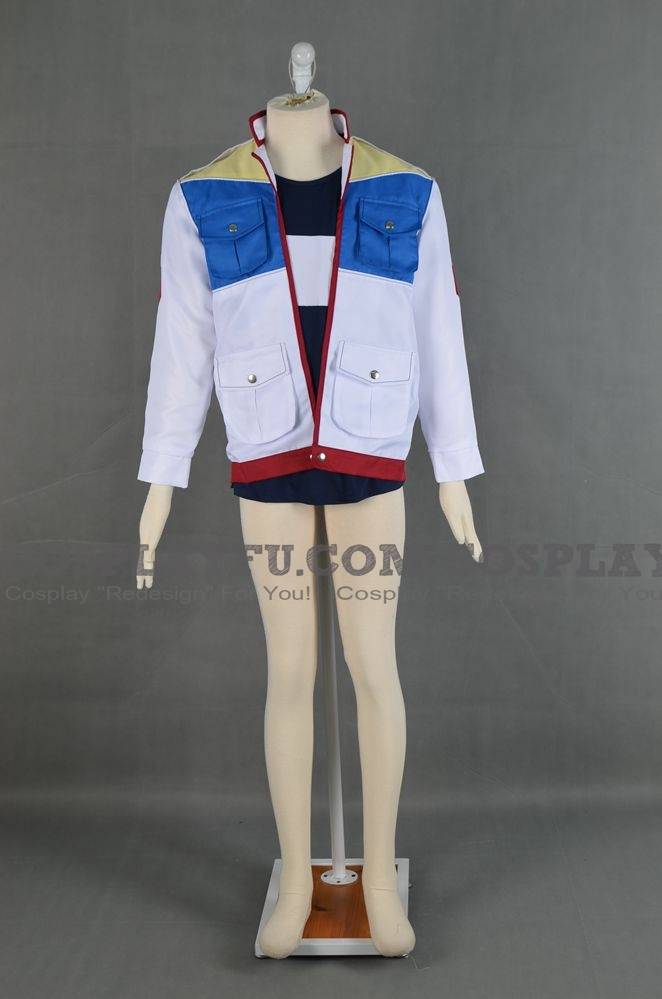 Bruno Cosplay Costume from Yu-Gi-Oh! 5D's