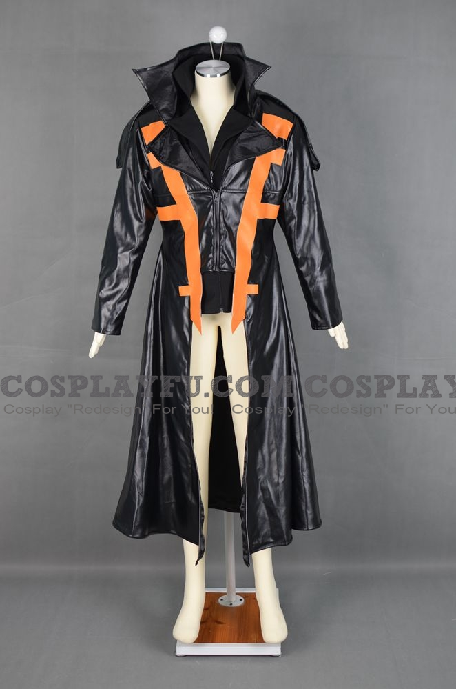Jack Atlas (Dark Signer Version) Cosplay Costume from Yu-Gi-Oh! 5D's