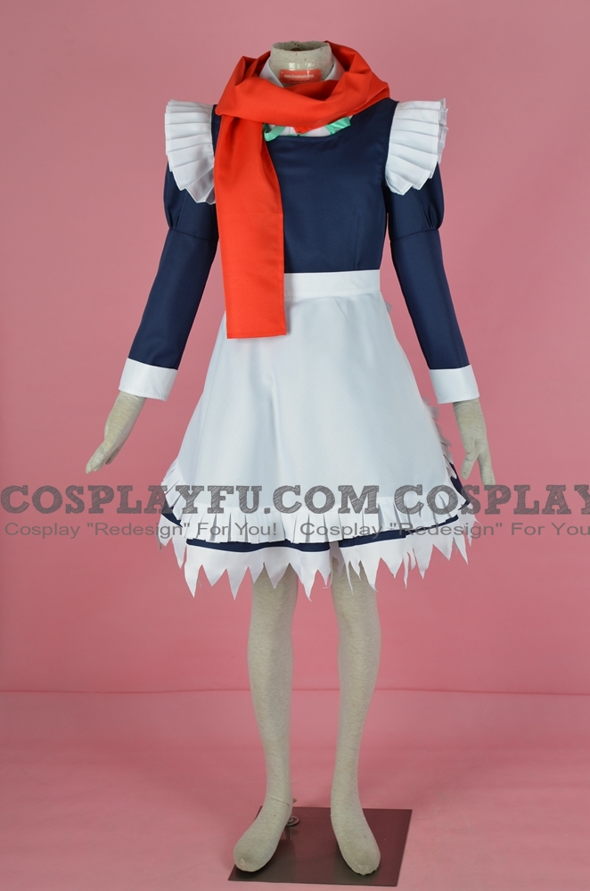 Sakuya Cosplay Costume (Perfect Cherry Blossom) from Touhou Project