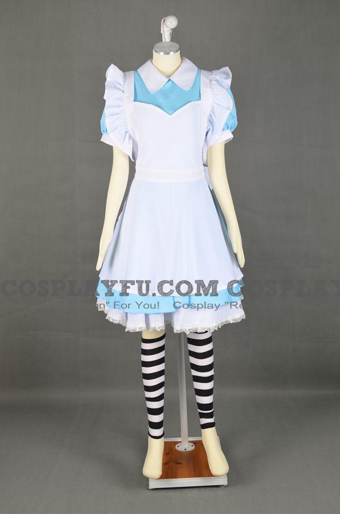 Alice Cosplay Costume from Alice in Wonderland