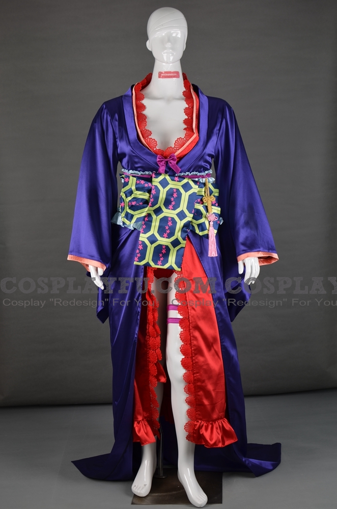 Sheryl Cosplay Costume (Courtesan,Kimono) from Macross Frontier