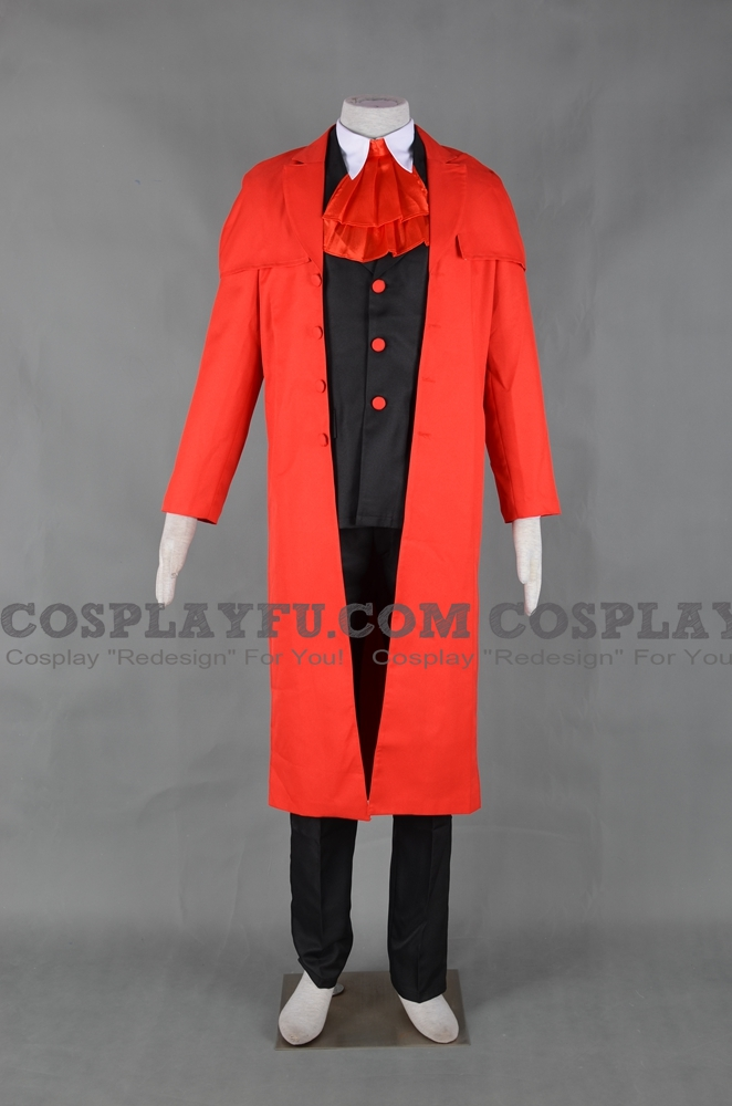 Alucard Cosplay Costume from Hellsing