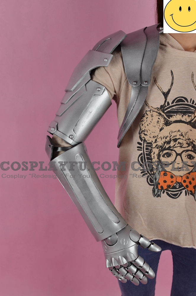 Edward Cosplay Costume Matel Arm from FullMetal Alchemist