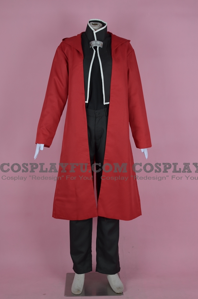 Edward Cosplay Costume (4-127) from FullMetal Alchemist