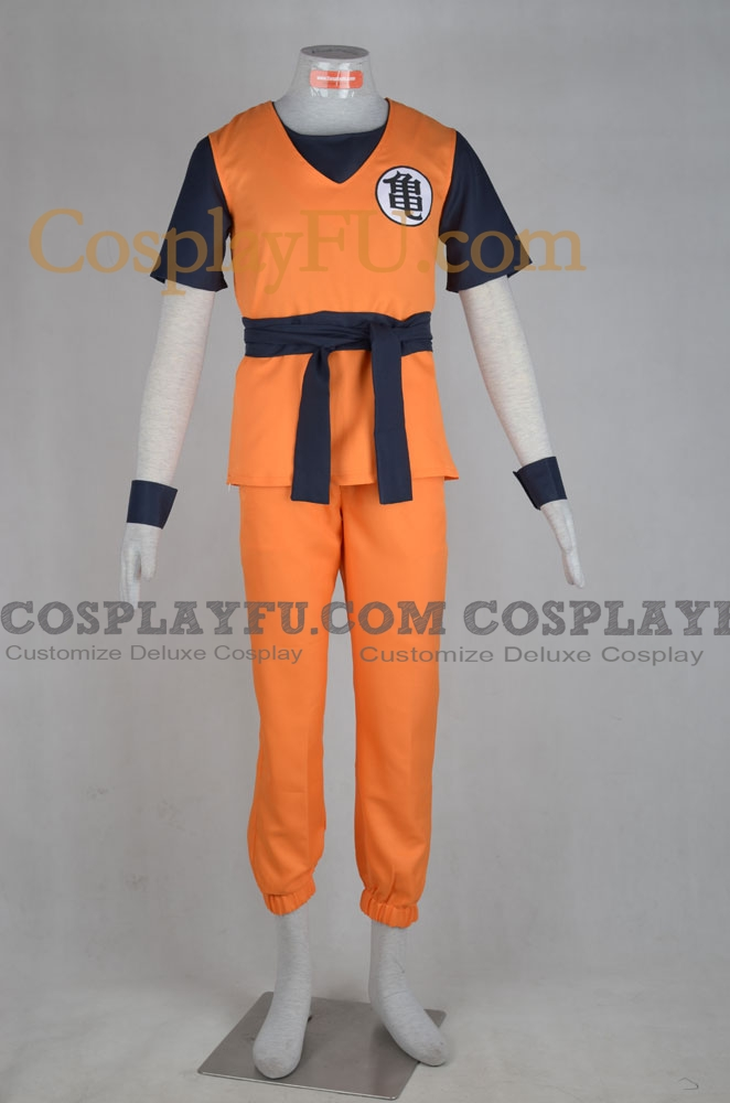 Goku Cosplay Costume from Dragon Ball
