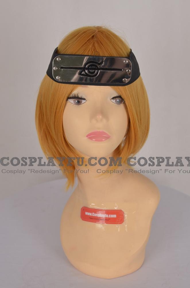 Naruto Headband (Black,Hidden,Leaf Village) from Naruto