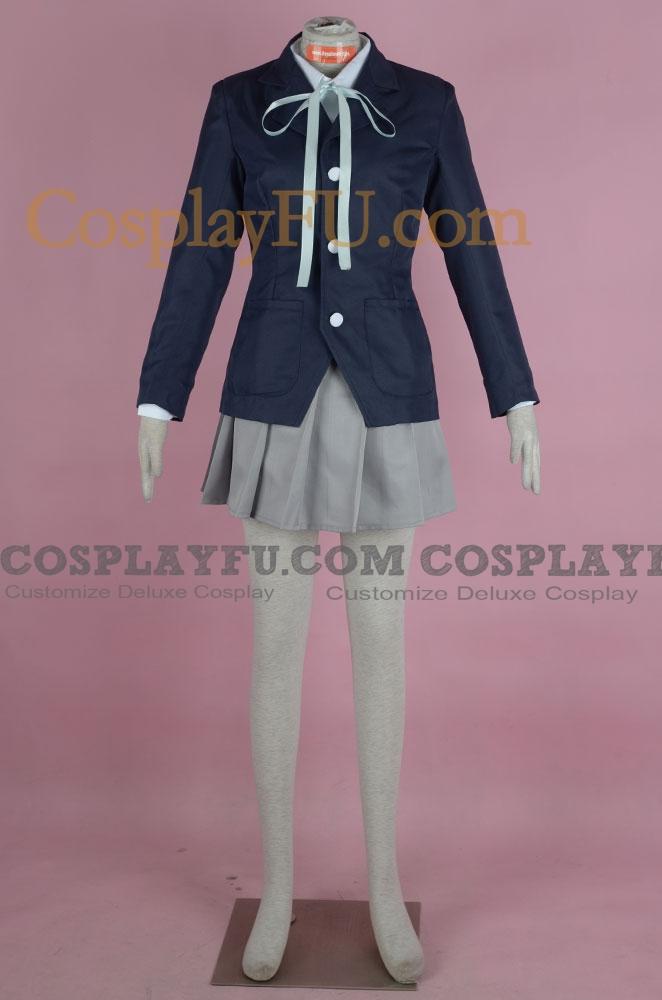 K-On! Mio Akiyama Kostüme (School Uniform)