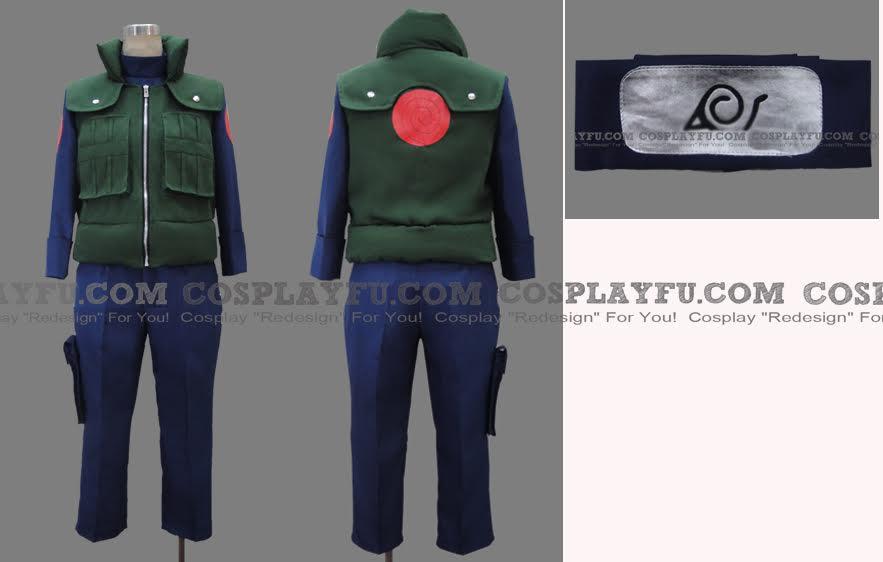 NARUTO Kakashi Hatake Costume