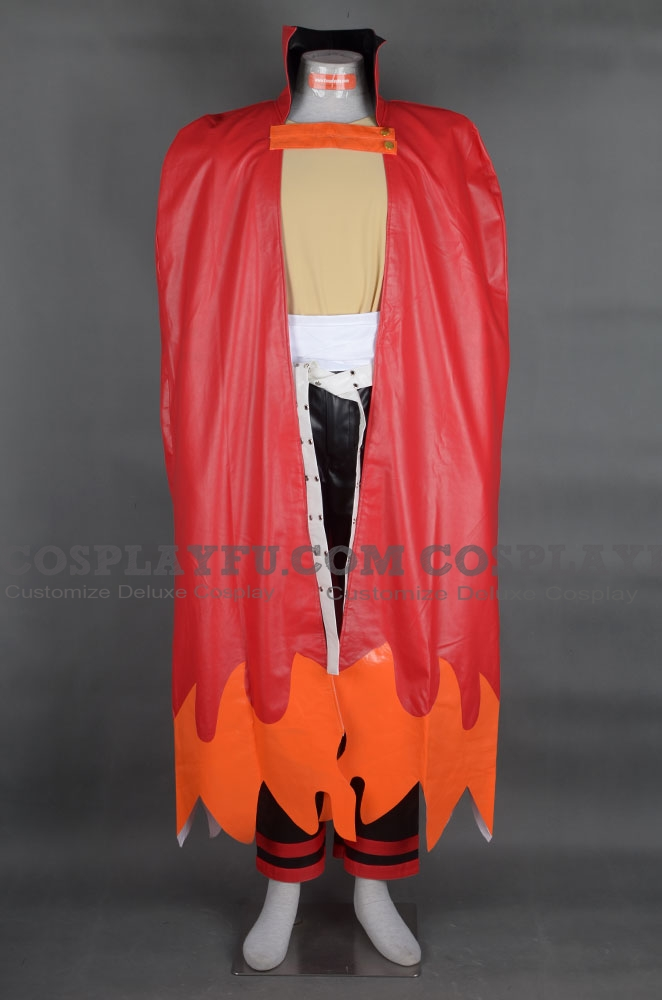 Kamina Cosplay Costume from Gurren Lagann