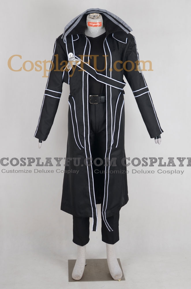 Kazuto Cosplay Costume from Sword Art Online