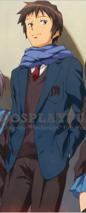 Kyon Cospaly from The Melancholy of Haruhi Suzumiya