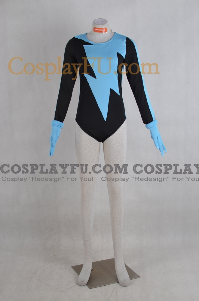 Livewire Cosplay Costume from Superman