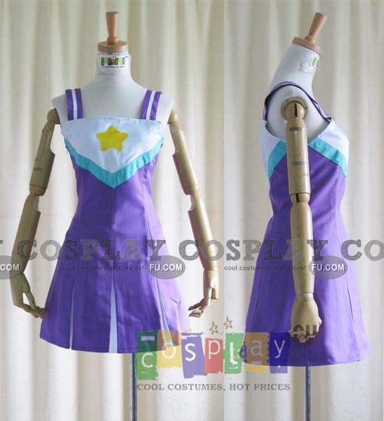 Konata Cosplay (Cheerleader Costume) from Lucky Star