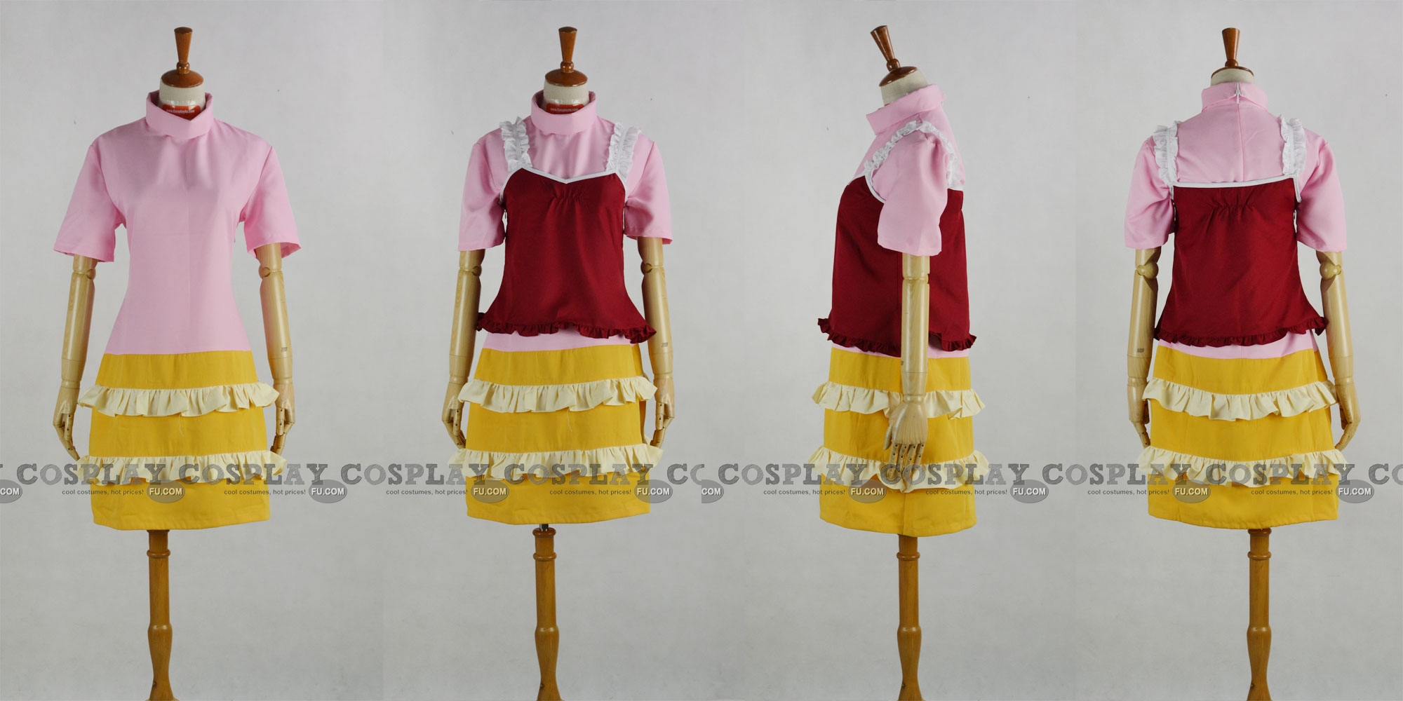 Lucy Cosplay Costume (2nd) from Elfen Lied