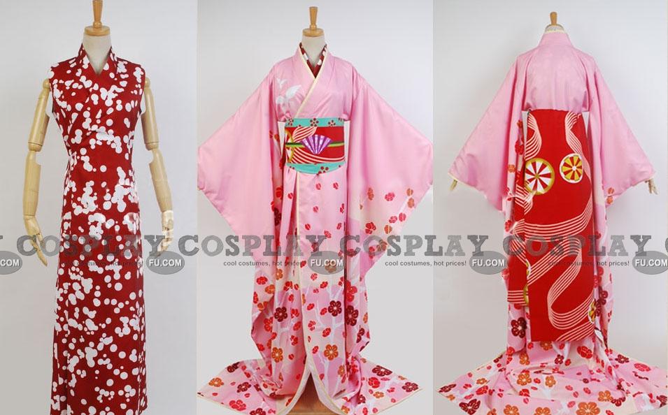 Puella Magi Madoka Magica Mami Tomoe Costume (Gisha)