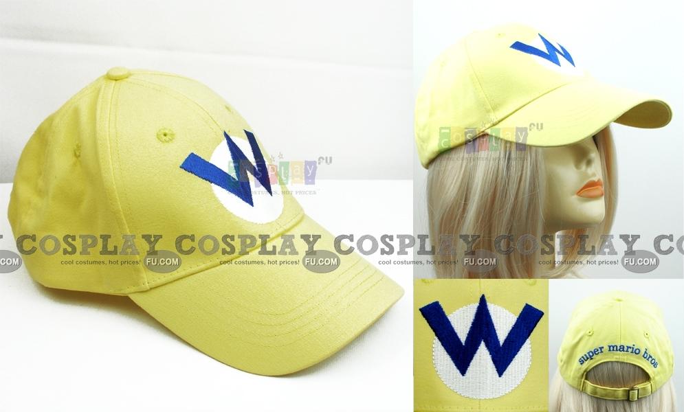 5316e6f3aa1 Mario Cap (Yellow Sunbonnet) from Super Mario - CosplayFU.com