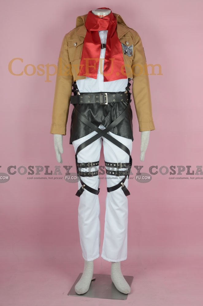 Mikasa Cosplay Costume (Training Corps) from Attack on Titan
