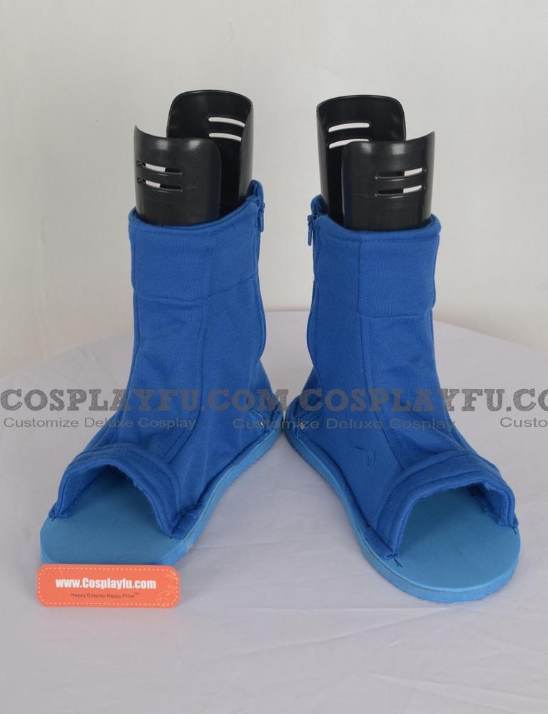 Ninja から 靴 (ブルー)