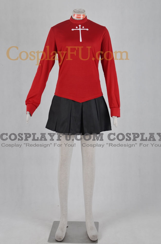 Rin Cosplay Costume from Fate Stay Night