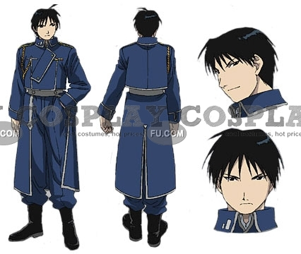 Roy Cosplay Costume (Female Version) from FullMetal Alchemist