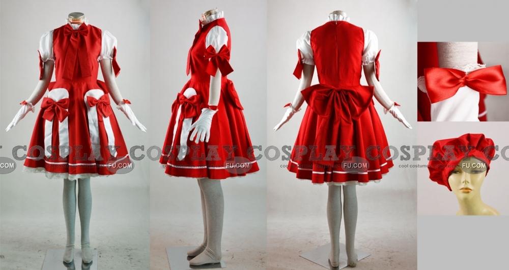 Sakura Cosplay Costume (OP 3rd) from Cardcaptor Sakura