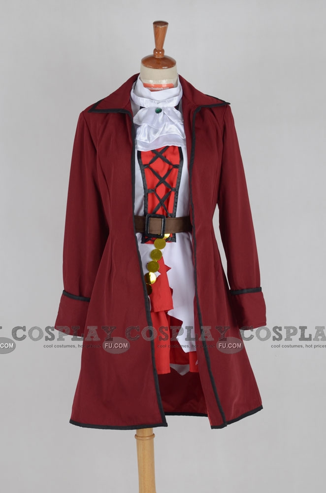 Seychelles Cosplay Costume (Pirate) from Axis Powers Hetalia