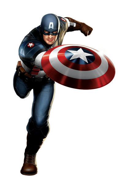 Steve Shield from Captain America