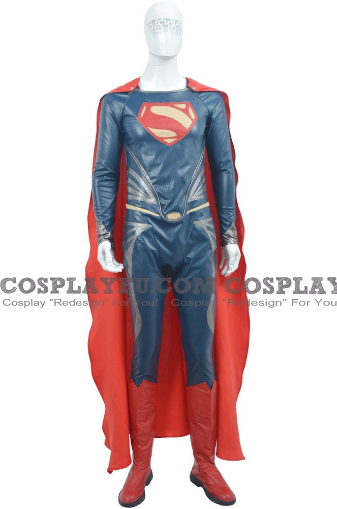 Superman Cosplay Costume from Man of Steel