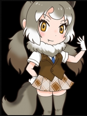 Eastern Wolf Plush Toy from Kemono Friends