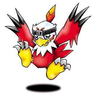 Hawkmon Plush from Digimon