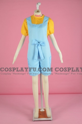 Minnie Harris Cosplay Costume from Digimon Data Squad