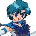 Pretty Guardian Sailor Moon Ami Mizuno Disfraz (Oscuro)