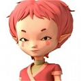 Aelita Stones Cosplay Costume from Code Lyoko