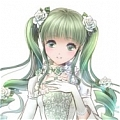 Miku Cosplay Costume (Cantarella Grace Edition) from Vocaloid