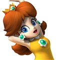 Princess Daisy Cosplay Costume (Baseball Suit) from Super Mario