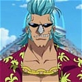One Piece Franky Perruque