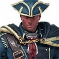 Haytham Cosplay Costume from Assassin's Creed4:Black Flag