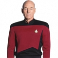 Captain Picard Cosplay Costume from Star Trek