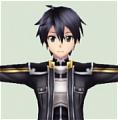 Kirito Cosplay Costume from Sword Art Online Infinity Moment