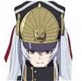 Re:Creators Military Uniform Princess Peluca
