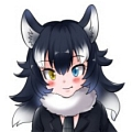 Gray Wolf Cosplay Costume (Female) from Kemono Friends