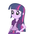 My Little Pony Twilight Sparkle Perruque